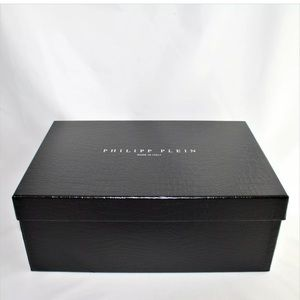 PHILIPP PLEIN Empty Shoe Box 13.5 x 9.25 x 5.25